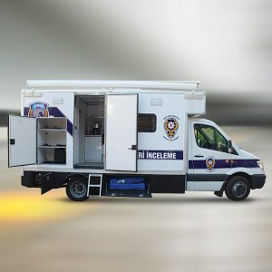 Command Control Vehicle and Crisis Management Vehicle